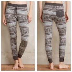 NWOT Anthro/Sat Sun Fairisle Sweater Leggings XS